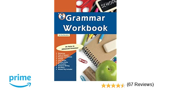 Amazon.com: Grammar Workbook: Grammar Grades 7-8 (9781517414610 ...
