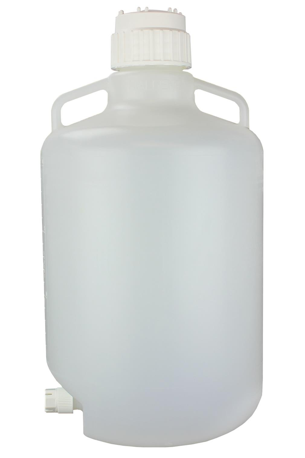 Midland Scientific 2319-0050 PK Nalge Nunc International Corp Polypropylene Autoclavable Carboy with Spigot, 22'' Height, 24'' Width, 24.25'' Length, 20'' (Pack of 4)