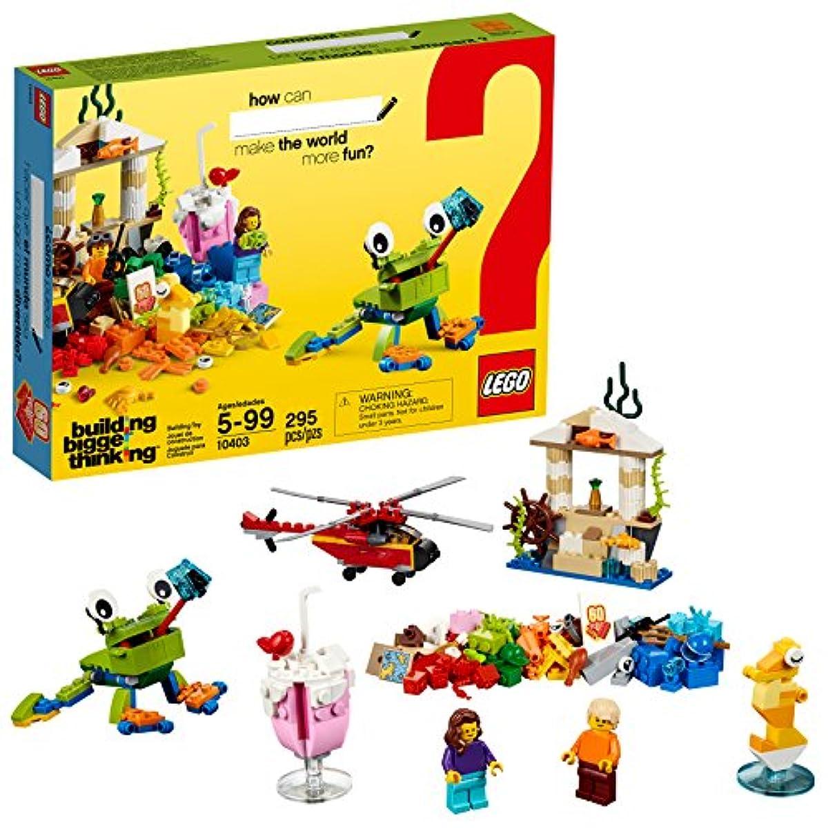 [해외] LEGO 클래식 월드 팬 10403 조립 키트 295피스