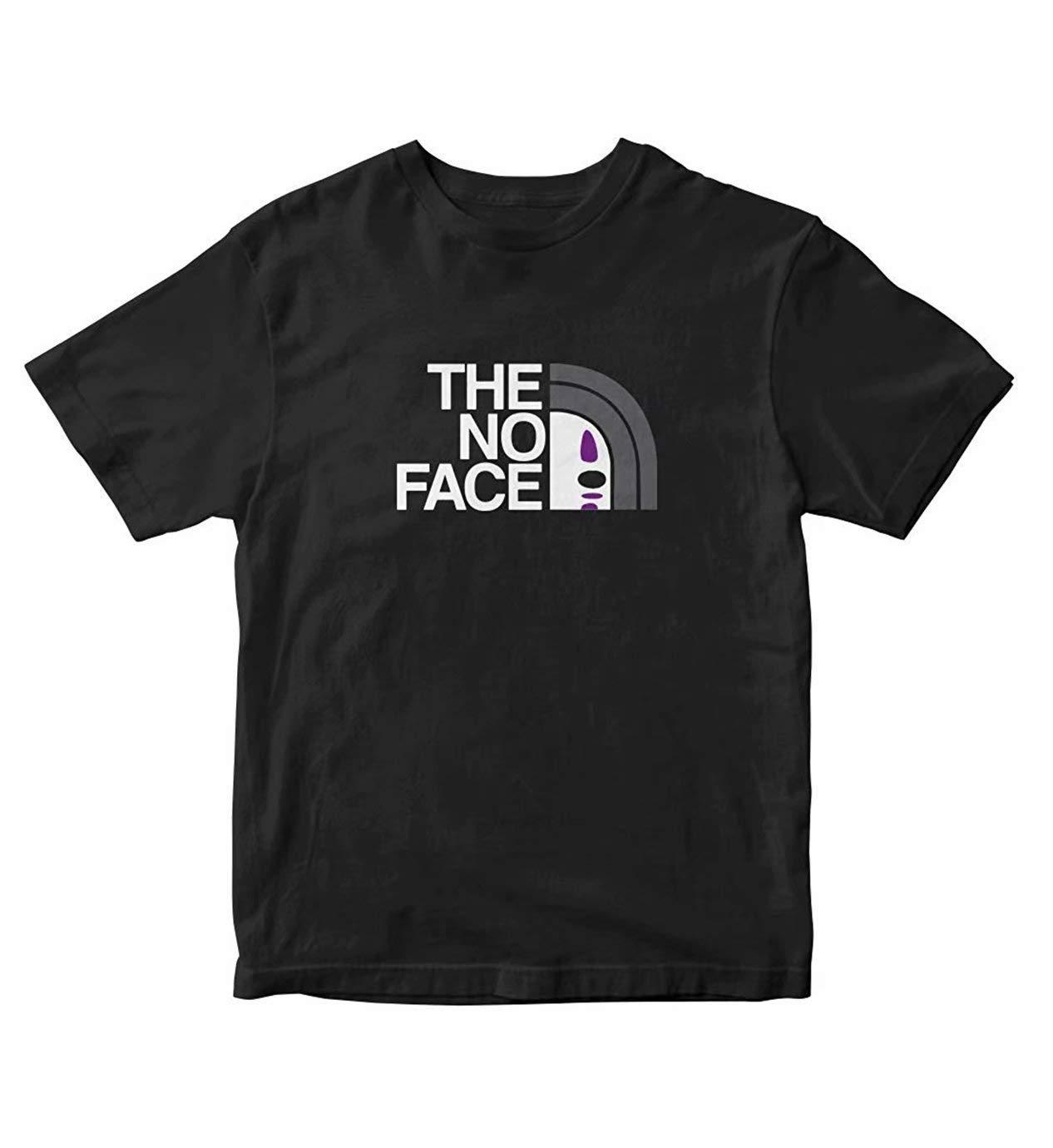 The No Face Spirited Away Manga Anime Tshirts For