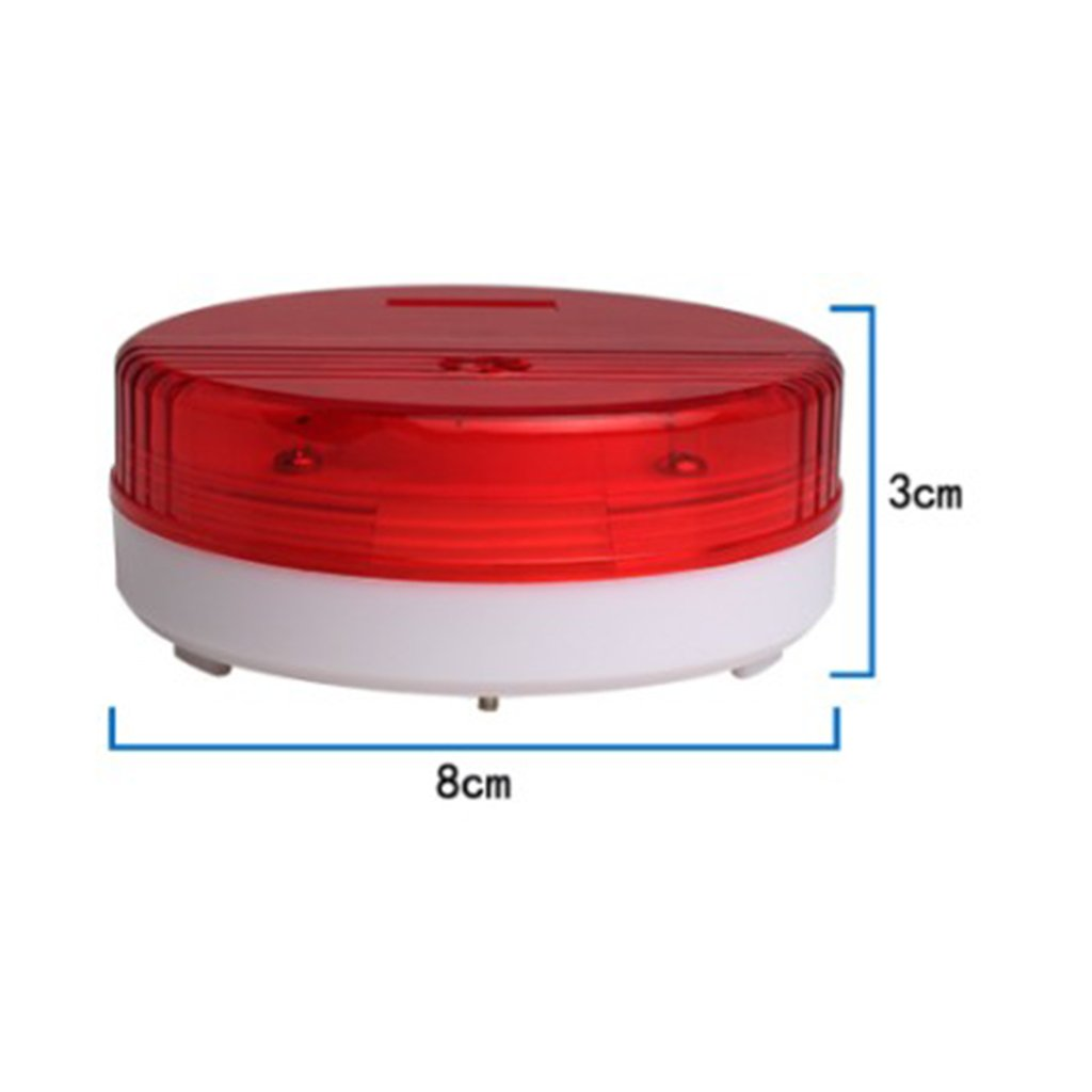 Dovewill 120db Waterproof Water Leakage Alarm Water Sensor Siren Alarm with Flashing LED for Industrial Warehose Workshop Home Kitchen Bathroom Basement by Dovewill (Image #5)