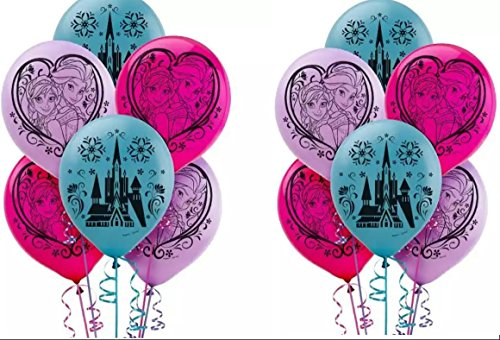 Disney Frozen Latex Balloons Count product image
