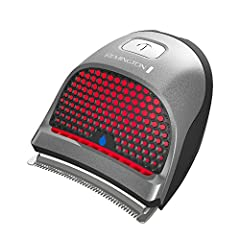 The Remington HC4250 Shortcut Pro Self-Haircut Kit's hair cut clipper is designed for fast, easy and precise cutting every time. The clipper has an extra-wide curved blade follows the contours of your head for even cutting, The Clipper is als...