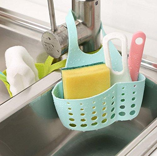 3 opinioni per Holder Spugna Sink Regolabile Gadget Da Cucina Cestino Di Immagazzinaggio Snap