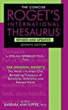 The Concise Roget's International Thesaurus, Barbara Ann Kipfer, 0061961078