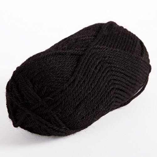 Knit Picks Wool of the Andes Worsted Weight Yarn (1 Ball - Coal) - Peruvian Merino Wool
