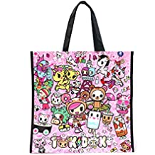 Tokidoki Donutella Kawaii 2 Sided Tote Bag Fashion Bag : Donutella