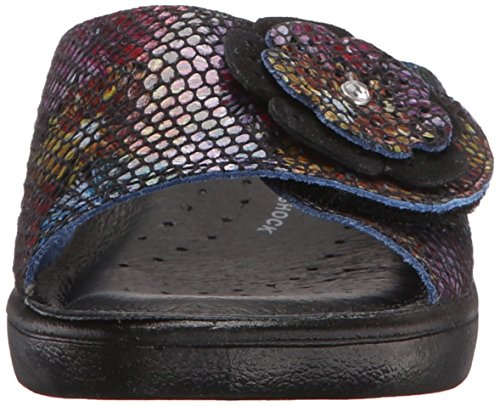 Sandalo Da Donna Fabia Slide Sandalo Nero / Multi