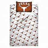 Texas Longhorns NCAA Licensed 4 Piece Full Sheet Set