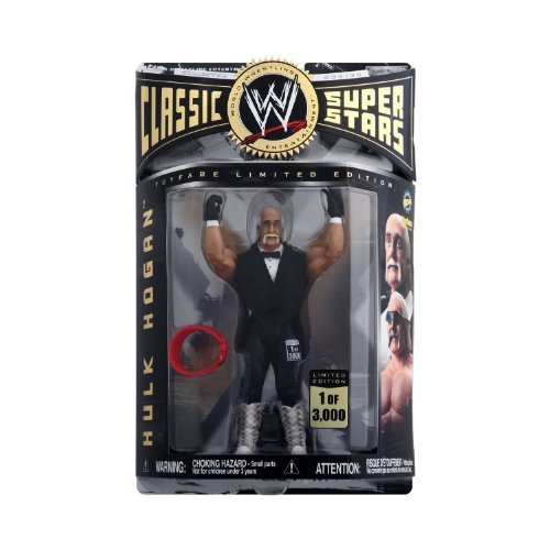 WWE - Hulk Hogan - Limited Edition - 1 of 3000 - Toyfare Exclusive Figure - Rare - Collector Series - Mint - New - Collectible - Out of Production - (L) by Jakks Pacific