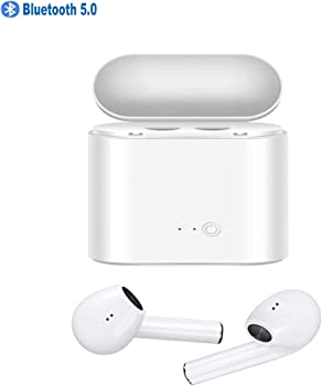 Somlato In-Ear Bluetooth Earbuds Headphones With Charging Case