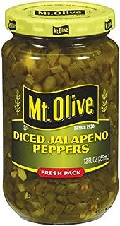 product image for Mt. Olive Diced Jalapeno Peppers, 12 FL OZ Jars (Pack of 3, Total of 36 Oz)