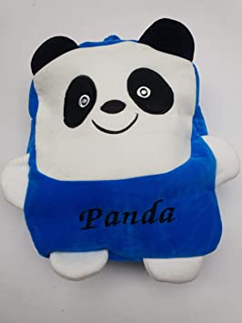 Jassi Toy Soft Stuffed Cute Duck Plush Bag for Kids (Blue)