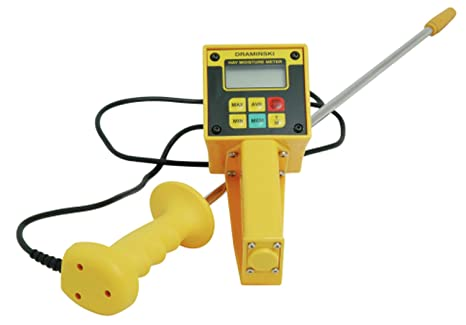 Tensiómetro de humedad para heno y paja (con cable)