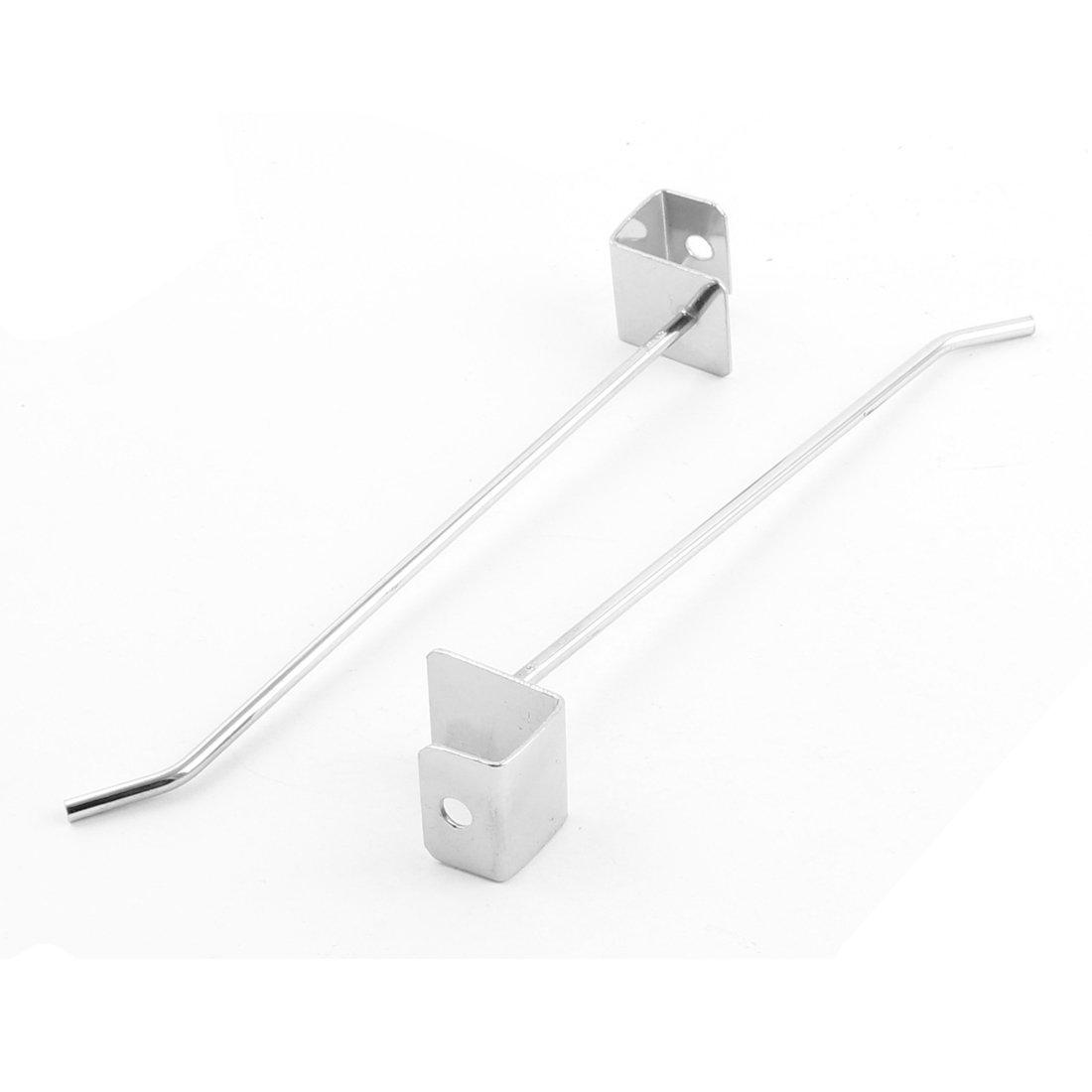 Amazon.com: eDealMax Toallas Metal Suspensión de ropa que cuelga exhibición de gancho del listón ganchos de pared 6pcs: Home & Kitchen