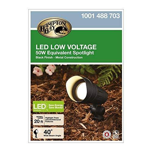 Low-Voltage LED (50W halogen equivalent) Outdoor Black Spot Light [並行輸入品] B07RB2CVGK