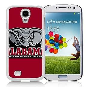 Southeastern Conference SEC Football Alabama Crimson Tide 5 White Fashion Customize Design Samsung Galaxy S4 I9500 i337 M919 i545 r970 l720 Phone Case