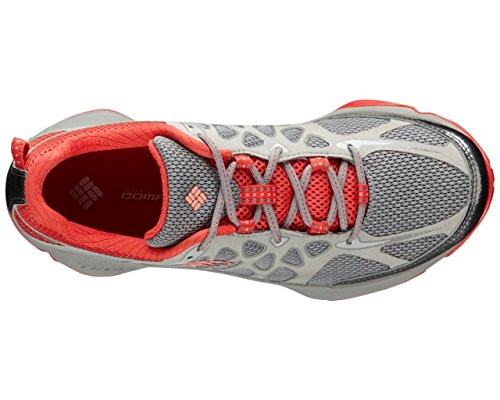 Columbia Women's Conspiracy Titanium Trail Outdoor Sneakers, Grey Mesh, 8.5 M by Columbia (Image #1)