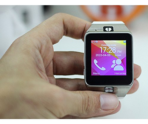 ICARUS - Smartwatch Reloj Inteligente Bluetooth, cámara con Ranura ...