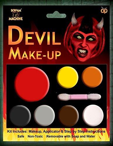 Halloween Devil Makeup Face Paint Great for Parties