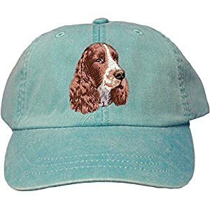 Cherrybrook Caribbean Blue Dog Breed Embroidered Adams Cotton Twill Caps (All Breeds) 8