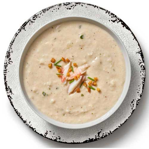 Campbells Crab Cream Bisque with Sherry Soup, 4 Pound -- 4 per case.