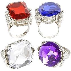 Jumbo Jeweled Rings Assortment (1 dz)