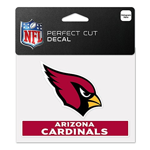 WinCraft NFL Arizona Cardinals WCR47913014 Perfect Cut Color Decal, 4.5