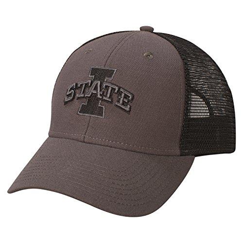 Ouray Sportswear NCAA Iowa State Cyclones Industrial Canvas Mesh Cap d15f8e1ec