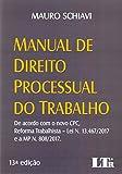 capa de Manual de Direito Processual do Trabalho