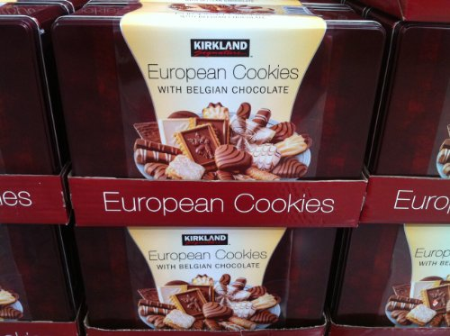 Kirkland Signature European Belgiun Chocolate Cookies - 3 Lbs.