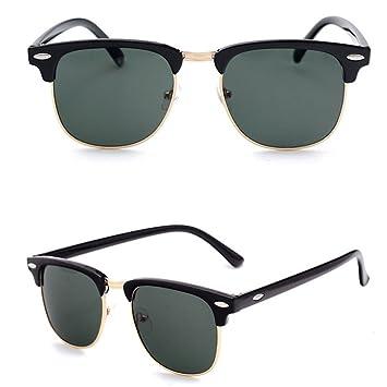 Amazon.com: GHCX Gafas de sol clásicas y vintage, gafas de ...