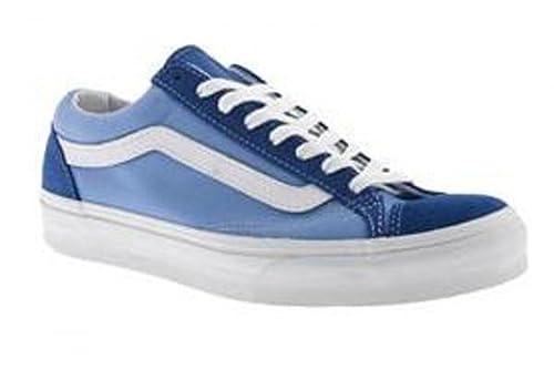 606ab5857e Vans Skateboard Shoes Old Skool 77 Classic Blue   Little By Blue ...