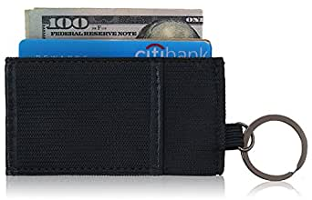 Minimalist Wallet Unique Thin Mens Front Pocket Wallet Small Credit Card Holder