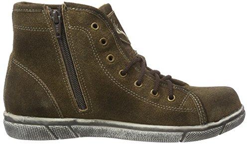 Trachtenrebell top July Women's Hi Brown Antik eiche Braun Sneakers qrqwPtWnd