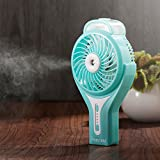 Insten Handheld USB Mini Cooling Fan with Misting Function