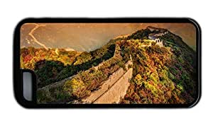 Hipster free iPhone 5C cover great wall of china TPU Black for Apple iPhone 5C by icecream design