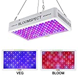BLOOMSPECT 1200W LED Grow Light: Full Spectrum for Indoor Hydroponics Greenhouse Plants Veg and Bloom (120pcs 10W LEDs)