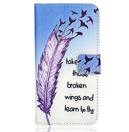 FoneExpert/® Sony Xperia XA2 Handy Tasche Wallet Case Flip Cover H/üllen Etui H/ülle Ledertasche Lederh/ülle Schutzh/ülle F/ür Sony Xperia XA2