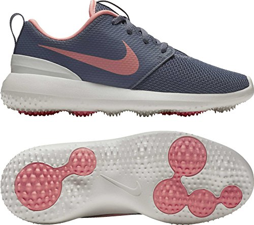 NIKE New Womens Golf Shoe Roshe G 7.5 White/Grey/Atomic for sale  Delivered anywhere in USA
