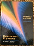 Differential Equations, Guterma, 0030096170