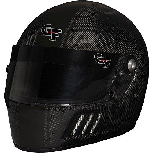 - G-Force 3128LRGBK Carbon CF3 Unisex-Adult Full-Face Helmet (Black,Large) (SA2015)
