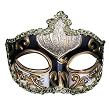 Sunko Handmade Colorful Painted Music Score Evening Party Prom Masquerade Mask