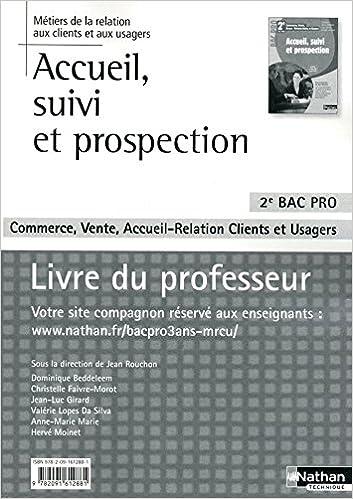 Livre Accueil, suivi et prospection pdf