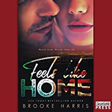 Feels Like Home: Playing Irish, Book 3 Audiobook by Brooke Harris Narrated by Mia Madison, Dustin Brash