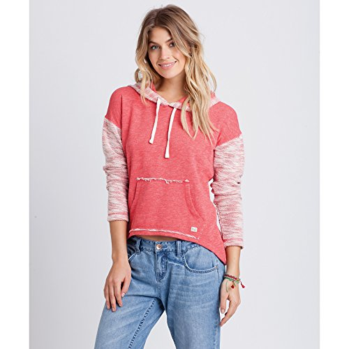 Billabong Women's How Lovely Hoodie Sunset Red X-Large