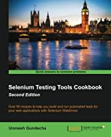 Selenium Testing Tools Cookbook, 2nd Edition Front Cover