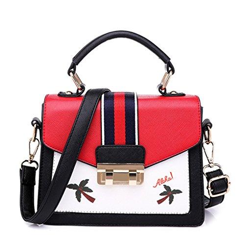 Nuovo Color Moda Mrs Sra Sacchetto Wild Bag Semplice Singolo Simple Casuale Selvatici Bolsa Di Zpzp Colore Rosso Spalla Single La Red De Modo Shoulder Nueva Casual pzxHwqw