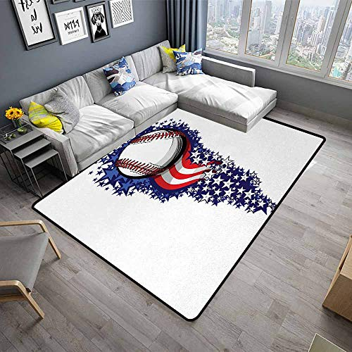 Sports,Large Floor Mats for Living Room 60