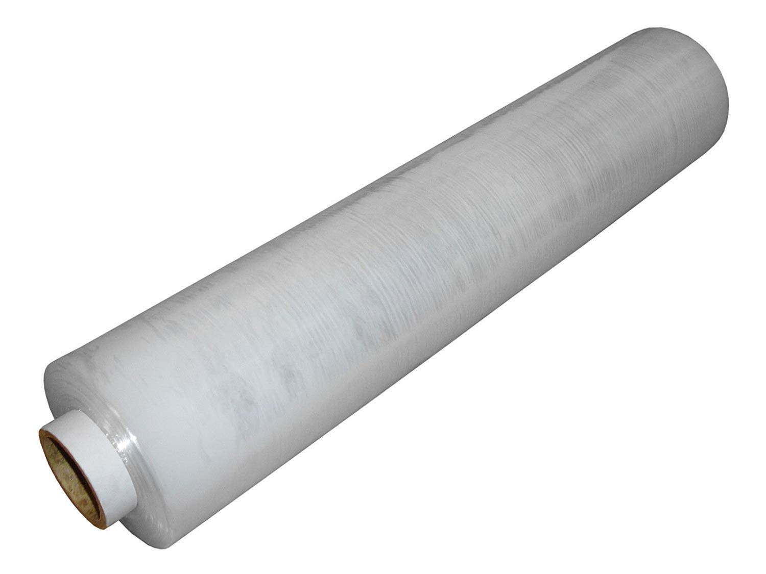 Pack of 1 PKGE Clear Heavy Duty Strong Pallet Shrink Wrap Packaging Cling Film Roll 400mm x 250m